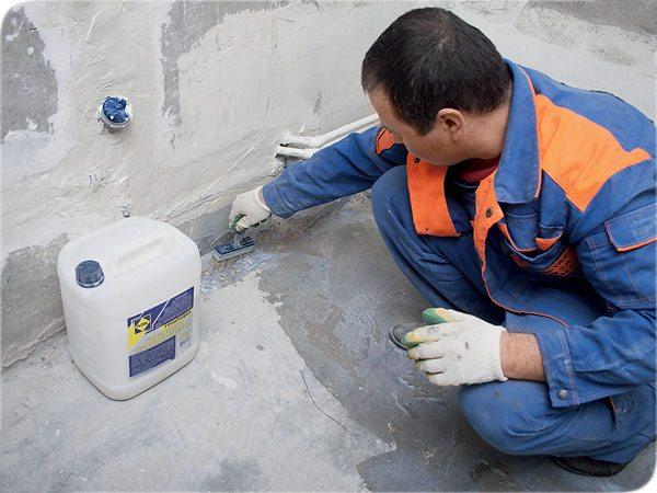 Использование подобных составов защитит от избытка влаги