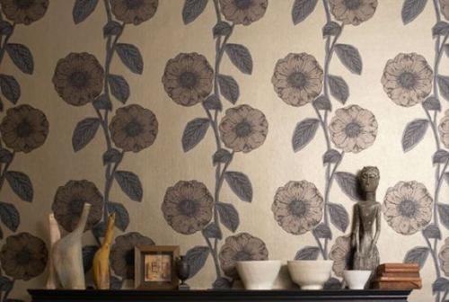 Используя обои в ретро стиле, стоит заранее продумать об элементах декора и других предметах интерьера, соответствующих выбранному направлению дизайна