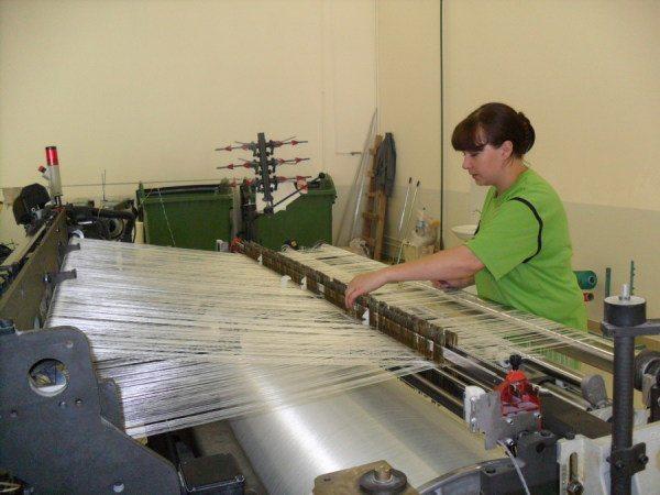 Изготовление стекловолоконной ткани