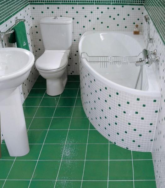 Кафельная плитка по праву занимает лидирующие позиции в облицовке ванных комнат