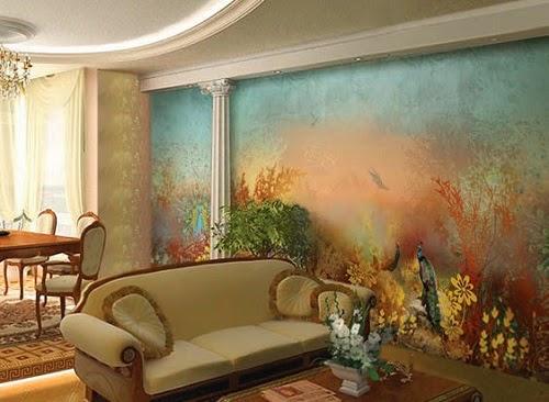 Как с помощью фресок облагородить пространство комнаты