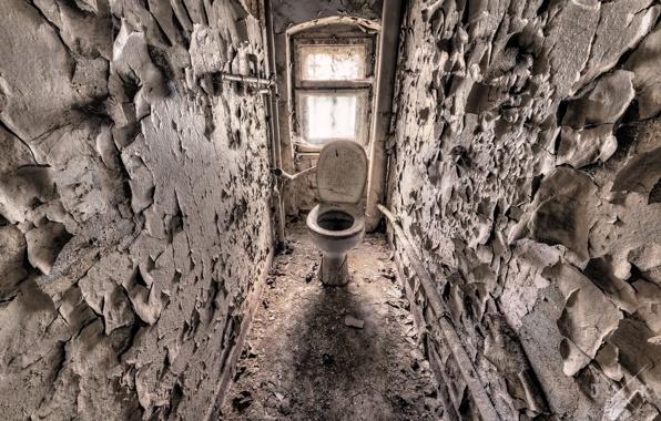 Кажется, в туалете пора делать ремонт.