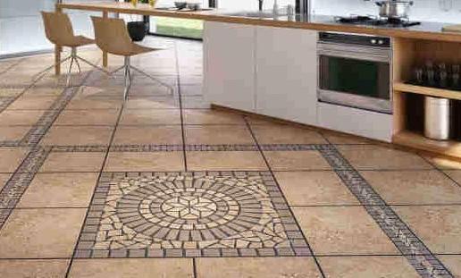 Керамическая плитка – достаточно очевидное решение