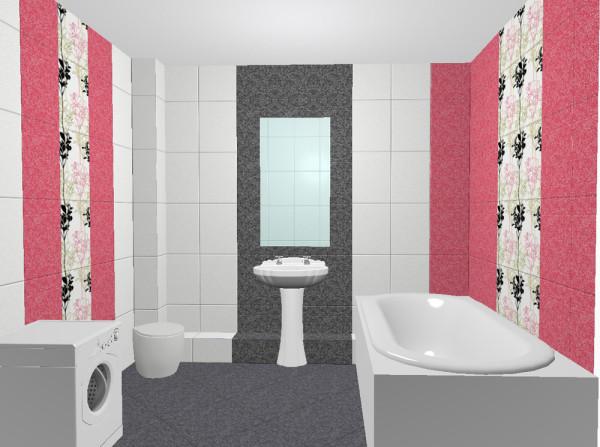 Керамическая плитка является примером того, каким материалом можно отделать ванную комнату