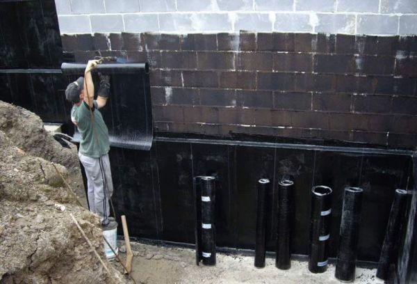 Клеевая гидроизоляция