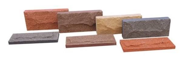 Клинкерная плитка для отделки стен.