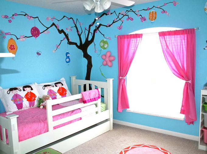 Комната маленькой девочки