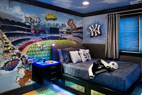 Комната юного спортсмена