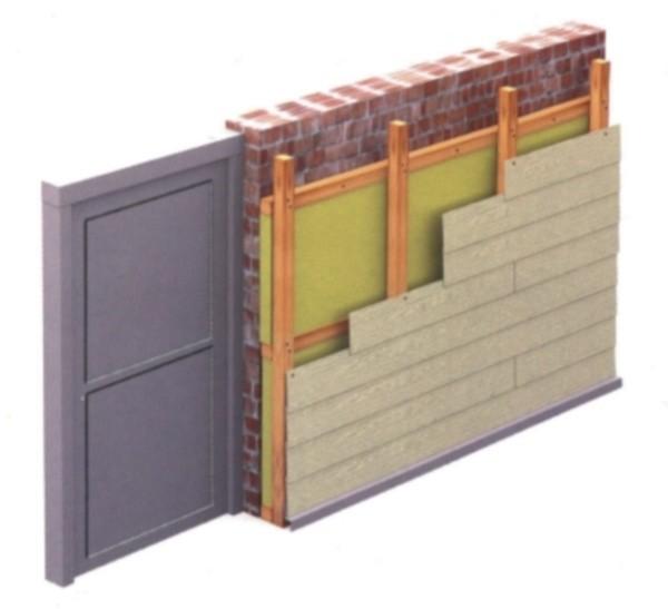 Контробрешетка необходима для того, чтобы под сайдингом оставался вентиляционный зазор, через который будут уходить излишки влаги