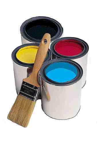 Краска для создания нового дизайна