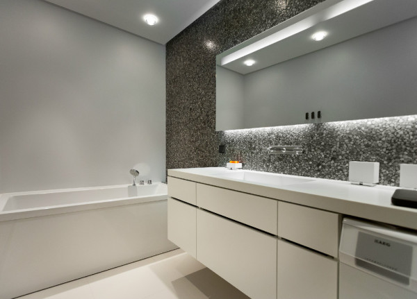 Краска, как материал для отделки ванной комнаты