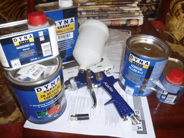 Краскопульт для вододисперсионной краски для наружных и внутренних работ