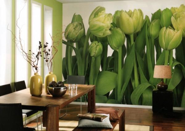 Крупное изображение «уменьшает» комнату