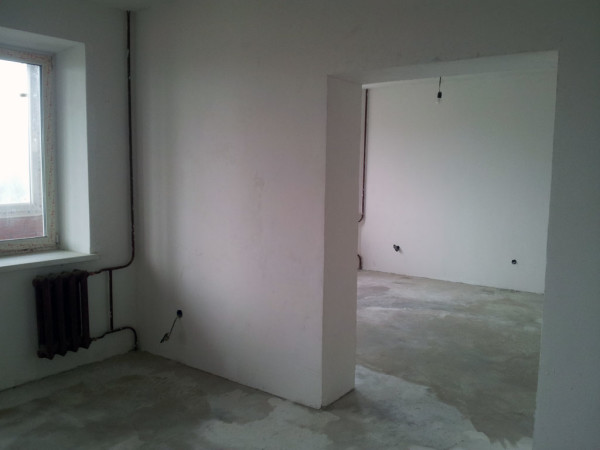 Квартира куплена для последующего ремонта и отделки