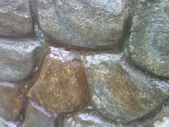 Лакировка готовой цементной поверхности.