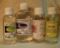 Летучие, химически активные вещества