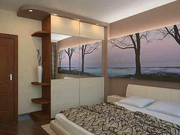 Маленькая спальня в хрущевке