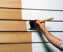 Масляные составы нашли широкое применение в окрашивании деревянных изделий.