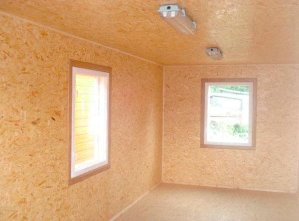 Материал можно использовать для отделки стен, полов и потолков.