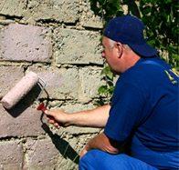 Материал можно применять снаружи зданий.