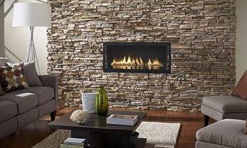 МДФ панели так искусно имитируют камень, что вы с трудом поверите, что камня на стене нет и в помине