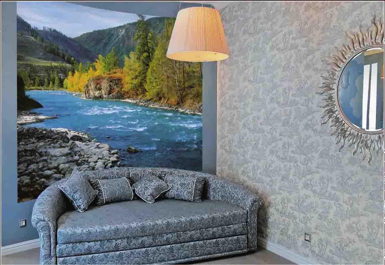 Мебель может быть придвинута вплотную к стене