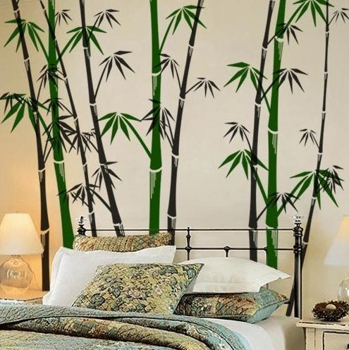 Мебель в стиле начала 20-го века прекрасно впишется в вашу бамбуковую обстановку