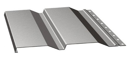 Металлическая панель с полимерным покрытием