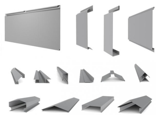 Металлический профиль разной формы