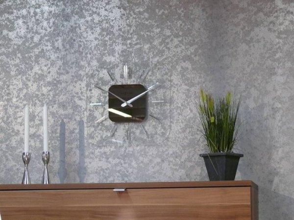 Металлизированные обои на стену в зал