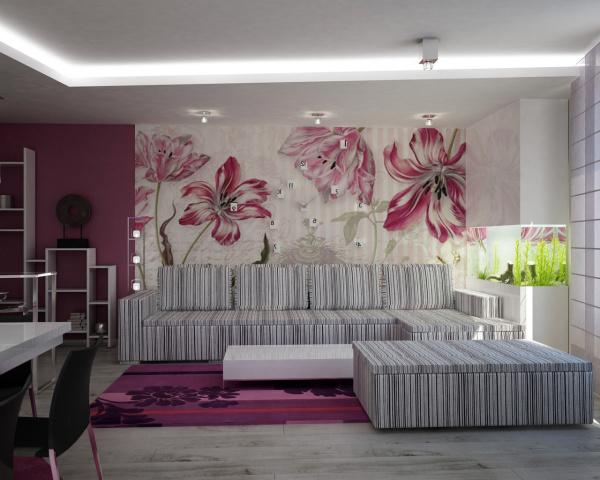 Модное покрытие для стен