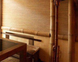 Можно попробовать бамбуковые обои, которые, тем не менее, не освобождают от ксте)оначальныйвет на покраску, которые могут и обязательное возникновение вопроса, как красить стеклообоинеобходимости делать балкон закрытым