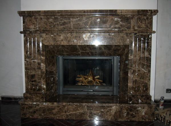 Мраморный камин – само совершенство