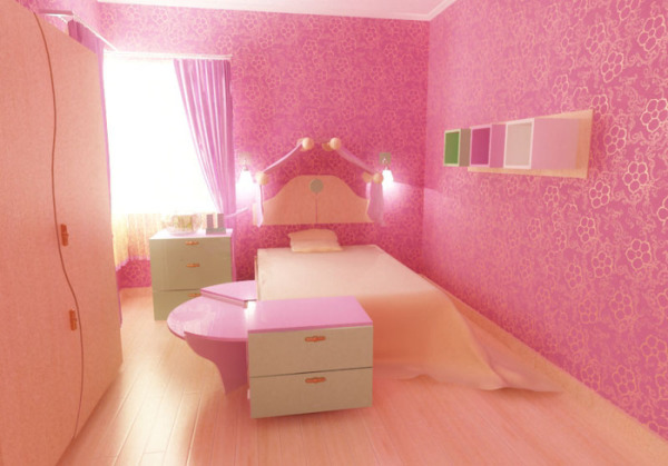 «Мягкая» спальня