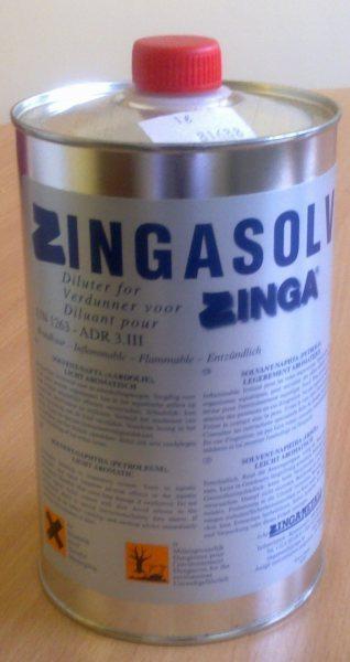 На фото - электропроводная краска Zinga для обработки гаражных петель