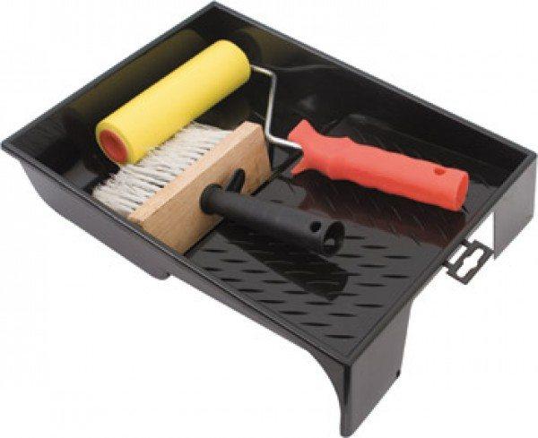 На фото - наиболее распространенный инструмент для подготовки гипсокартонных поверхностей