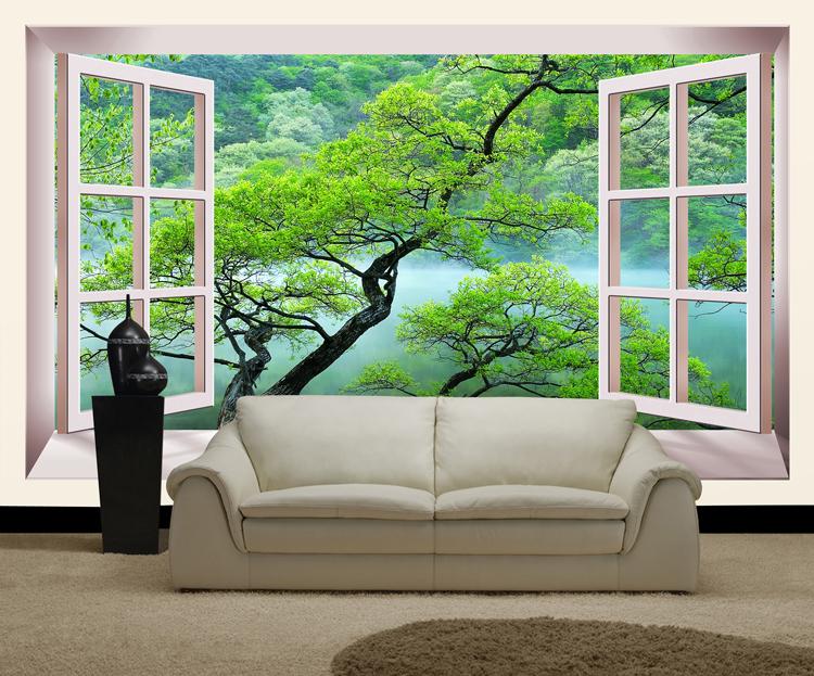 На фото - такое решение преобразит вашу комнату до неузнаваемости