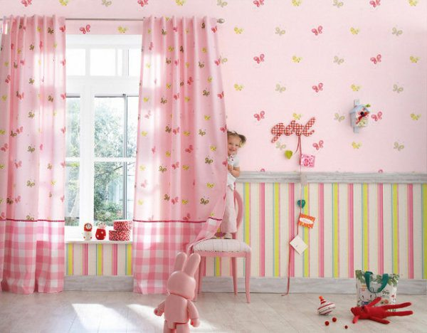 На фото - традиционное розовое оформление
