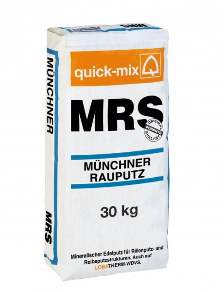 На фото – декоративная штукатурка Quick-mix MRS