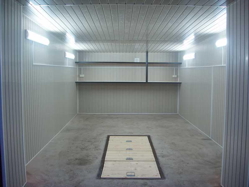 внутренняя отделка гаража своими руками фото
