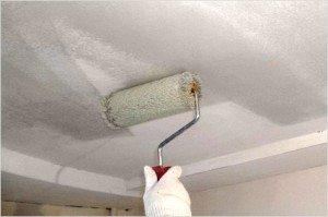На фото- грунт позволяет идеально обеспылить ваш потолок или стены