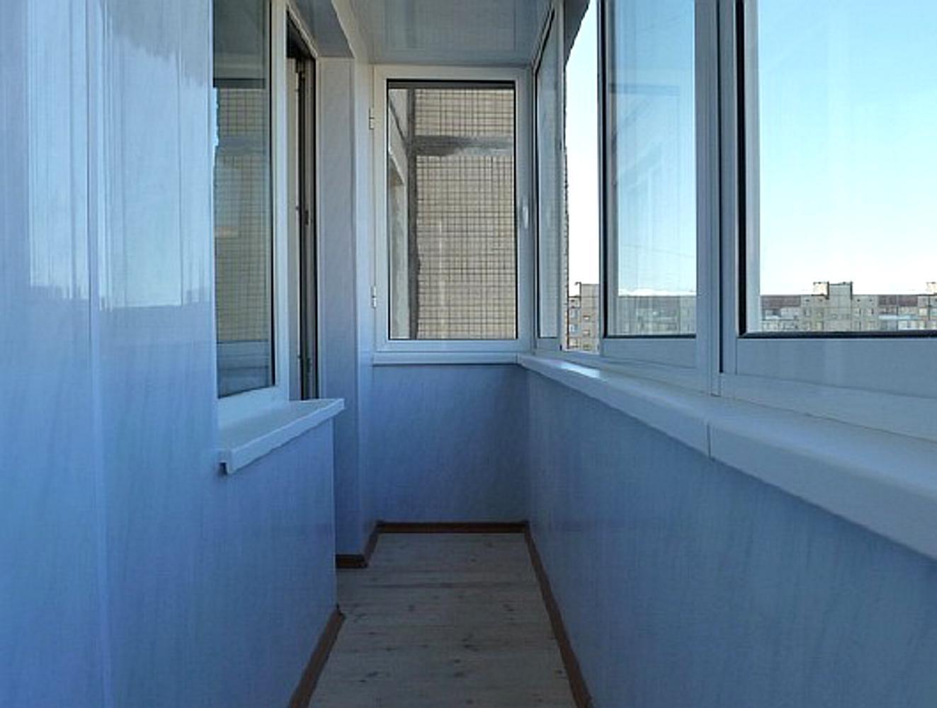 Отделка балкона панелями пвх своими руками видео фото 889