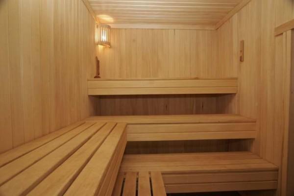 Отделка сауна: материалы для внутренней обшивки, видео-инструкция по монтажу вагонки, фото