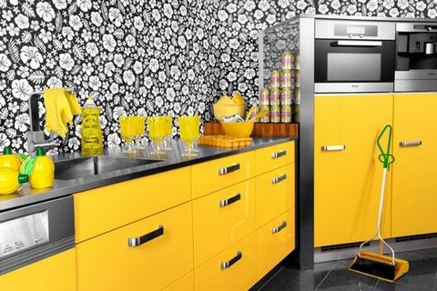 На фото – пример оформления кухни