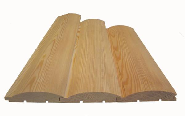 На фото блок-хаус – современный материал из древесины.