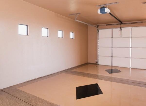 На фото: хороший ремонт в гараже буквально преображает помещение