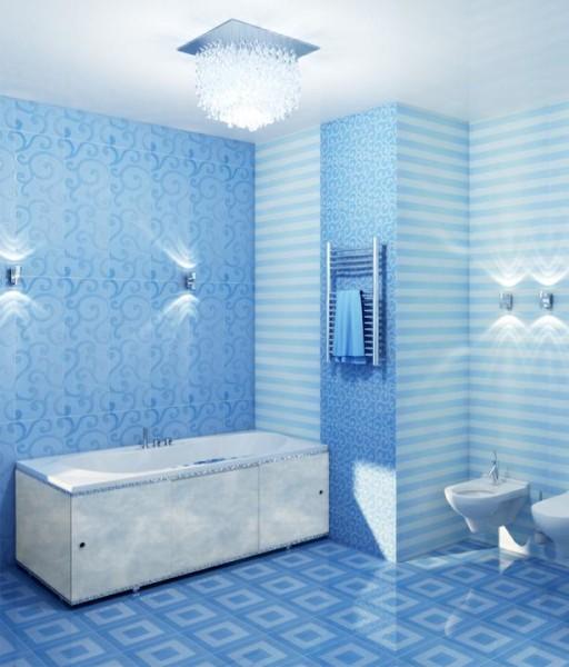 На фото: используя пластиковую отделку, вы сможете преобразить ванну буквально за один день