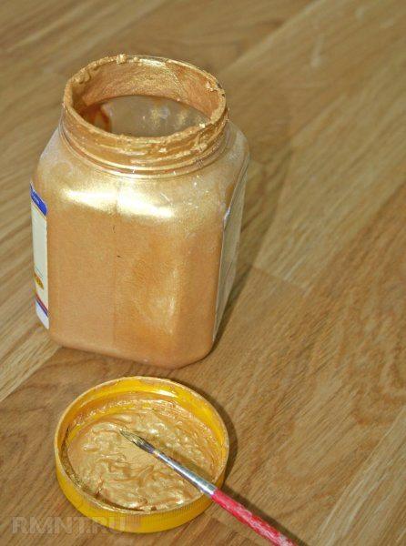 На фото представлена окрашивающая смесь с эффектом перламутра.