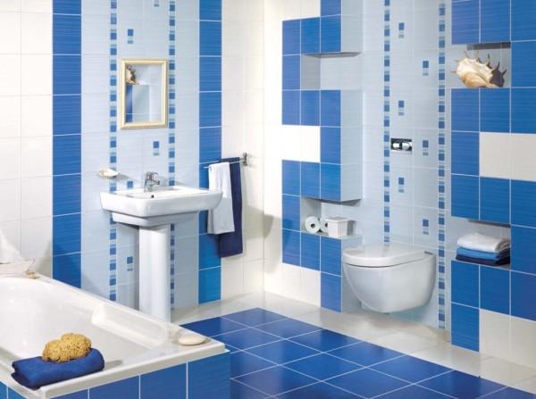 На фото представлены современные материалы для отделки ванной комнаты