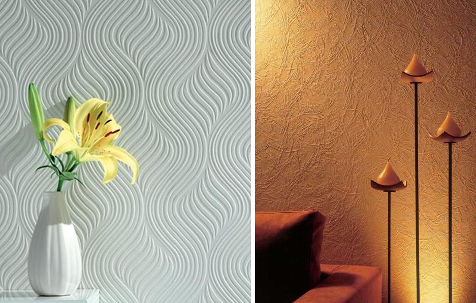 На фото тот наглядный пример, когда покраска обоев будет спасением – вы меняете интерьер и под него выбираете дизайн своих обоев, что может быть лучше